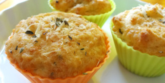 Muffin de Parmesão – igual ao do Starbucks
