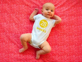 Desenvolvimento do bebê de 7 meses
